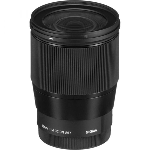 Sigma 16mm f/1.4 DC DN Contemporary obiectiv Mirrorless montura Canon EF-M 3