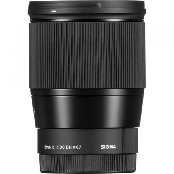 Sigma 16mm f/1.4 DC DN Contemporary obiectiv Mirrorless montura Canon EF-M 5