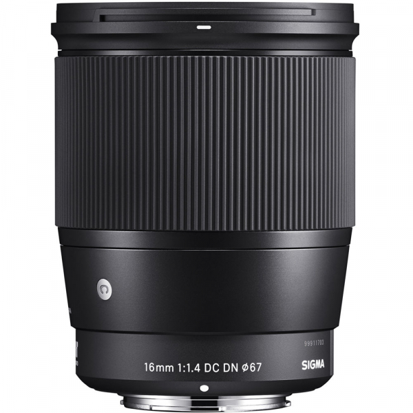 Sigma 16mm f/1.4 DC DN Contemporary - obiectiv Mirrorless montura MFT 1