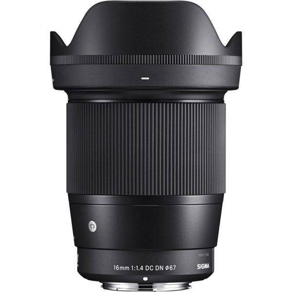 Sigma 16mm f/1.4 DC DN Contemporary -   obiectiv Mirrorless montura Sony E 2