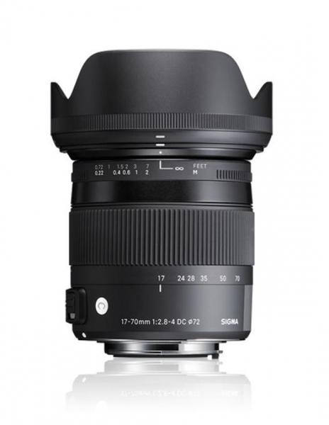 Sigma 17-70mm f/2.8-4 DC Macro OS HSM  -  Contemporary  pt Canon EOS 0