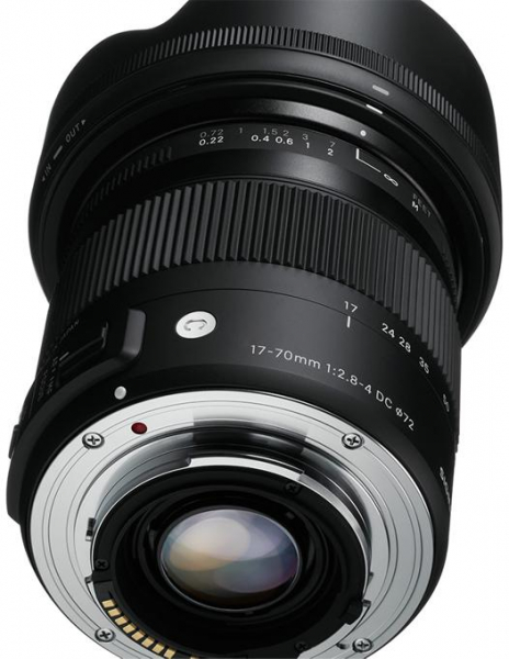 Sigma 17-70mm f/2.8-4 DC Macro OS HSM  -  Contemporary  pt Canon EOS 5