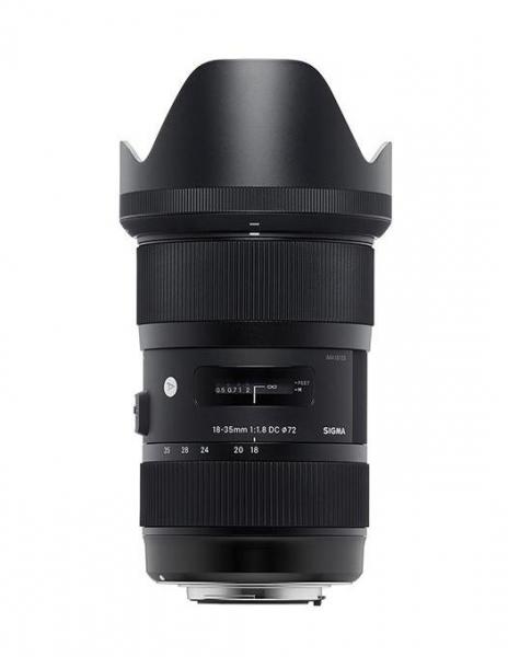 Sigma 18-35mm  f/1.8 DC HSM ART - montura  Nikon [0]