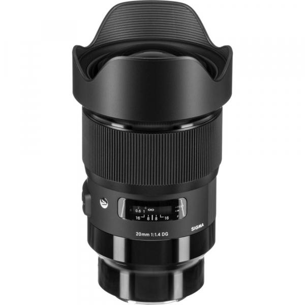 Sigma 20mm f/1.4 DG HSM ART -   obiectiv Mirrorless montura Sony E 0