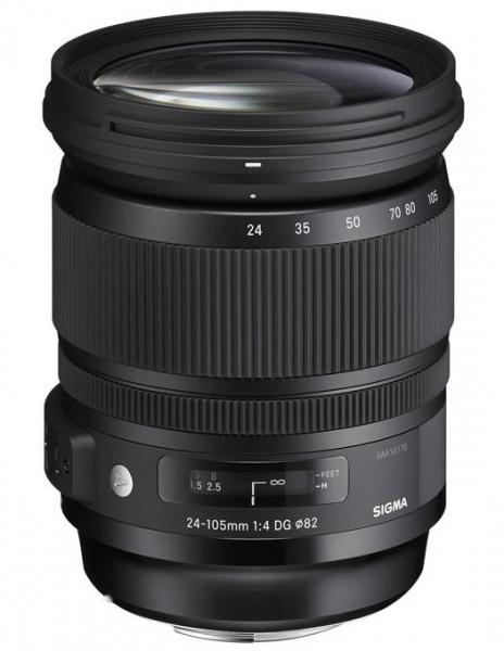 Sigma 24-105mm f/4 DG OS HSM ART - montura Canon EF 0