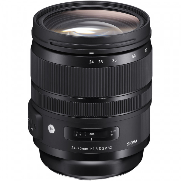 SIGMA 24-70mm f/2.8 OS DG HSM ART- Canon EF 0