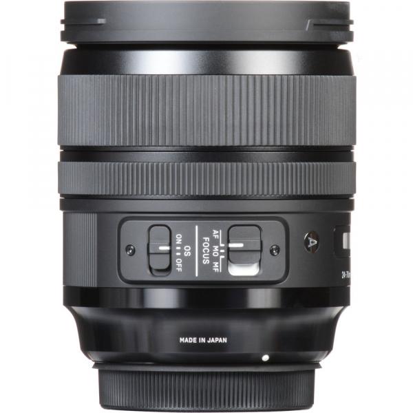 SIGMA 24-70mm f/2.8 OS DG HSM ART- Canon EF 4