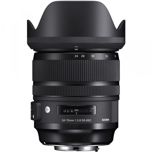 SIGMA 24-70mm f/2.8 OS DG HSM ART- Canon EF 2