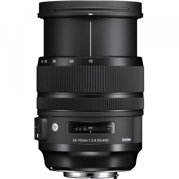 SIGMA 24-70mm f/2.8 OS DG HSM ART- Canon EF 3