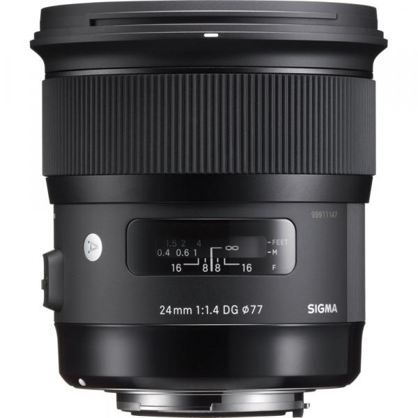 Sigma 24mm f/1.4 DG HSM ART - montura  Nikon 1