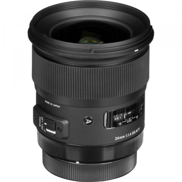 Sigma 24mm f/1.4 DG HSM ART - montura  Nikon 2