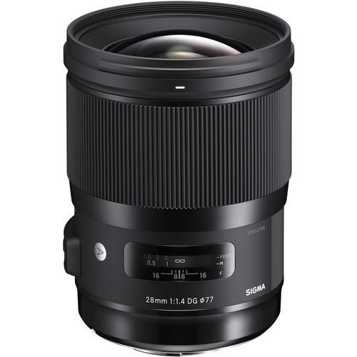 Sigma 28mm f/1.4 DG HSM ART - Canon EF 0