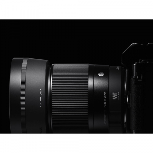 Sigma 30mm f/1.4 DC DN Contemporary negru -  obiectiv Mirrorless montura Sony E 7