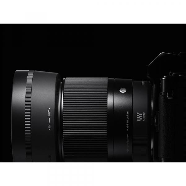 Sigma 30mm f/1.4 DC DN Contemporary negru -  obiectiv Mirrorless montura Sony E [7]