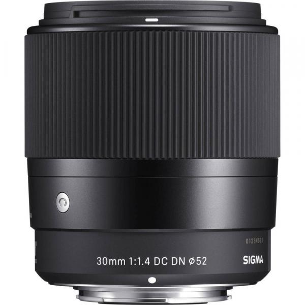 Sigma 30mm f/1.4 DC DN Contemporary negru -  obiectiv Mirrorless montura Sony E [1]