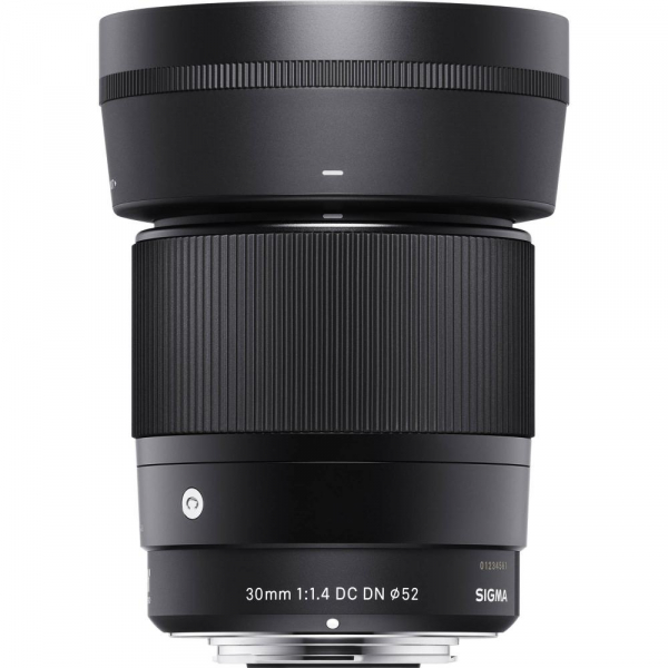 Sigma 30mm f/1.4 DC DN Contemporary negru -  obiectiv Mirrorless montura Sony E 2