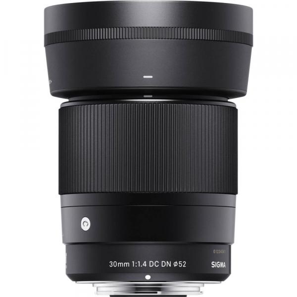 Sigma 30mm f/1.4 DC DN Contemporary negru -  obiectiv Mirrorless montura Sony E [2]