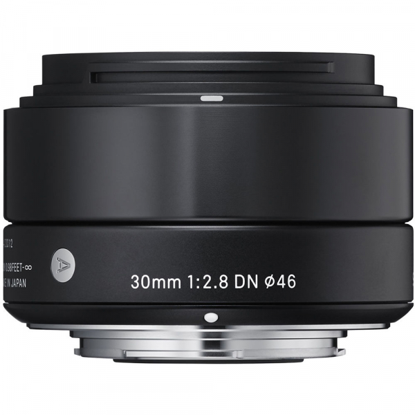 Sigma 30mm f/2.8 DN ART Micro negru -  obiectiv Mirrorless montura MFT  0