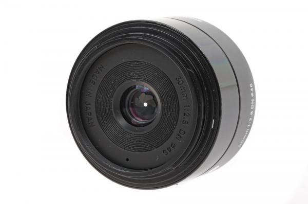 Sigma 30mm f/2.8 DN ART negru -   obiectiv Mirrorless montura Sony E (S.H.) 3