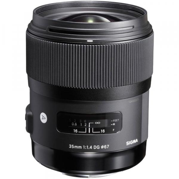 Sigma 35mm f/1.4 DG HSM ART - montura Canon EF 0