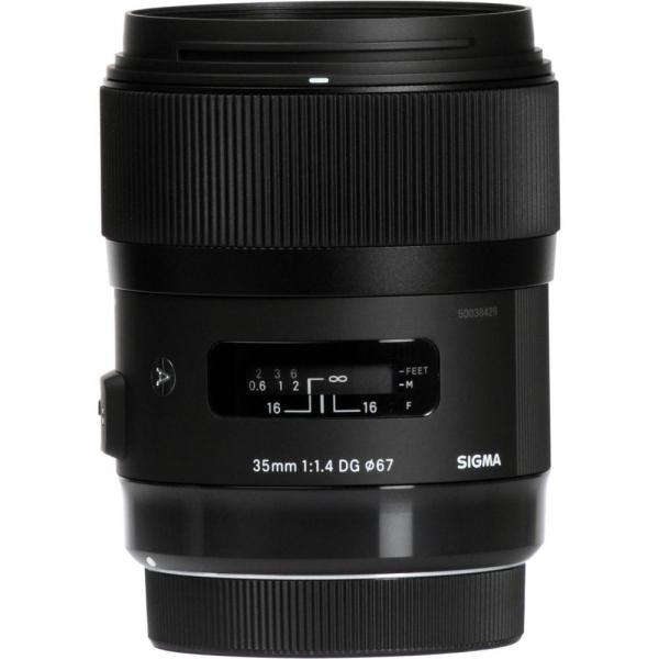 Sigma 35mm f/1.4 DG HSM ART - montura Canon EF 1