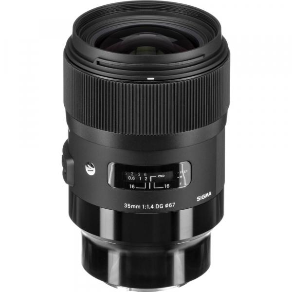 Sigma 35mm  f/1.4 DG HSM ART , obiectiv Mirrorless montura Panasonic L 0