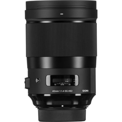 Sigma 40mm f/1.4 DG HSM ART - Nikon F 1