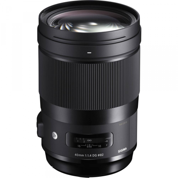 Sigma 40mm  f/1.4 DG HSM ART , obiectiv Mirrorless montura Sony E 0