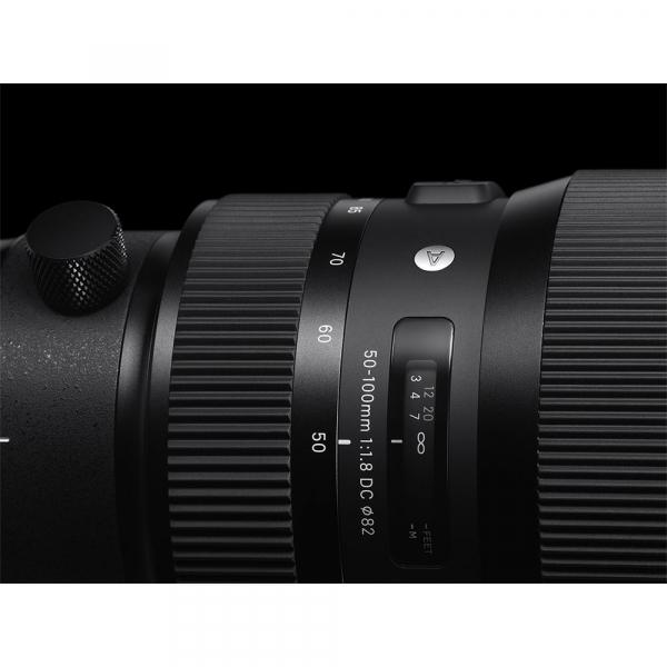 Sigma 50-100mm f/1.8 DC HSM Canon 5