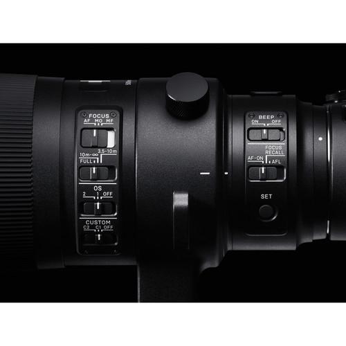 Sigma 500mm f/4 DG OS HSM Sport Canon EF  5