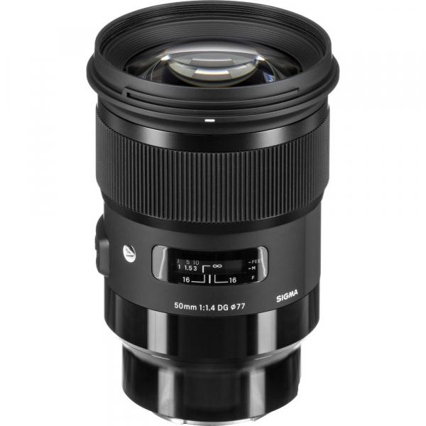 Sigma 50mm F1.4 DG HSM ART - obiectiv Mirrorless montura Panasonic L 0