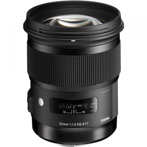 Sigma 50mm F1.4 DG HSM ART -   obiectiv Mirrorless montura Sony E 0