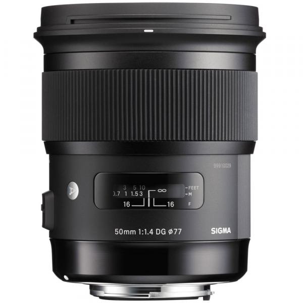 Sigma 50mm F1.4 DG HSM ART -   obiectiv Mirrorless montura Sony E 1