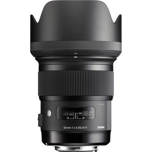 Sigma 50mm F1.4 DG HSM ART -   obiectiv Mirrorless montura Sony E 2