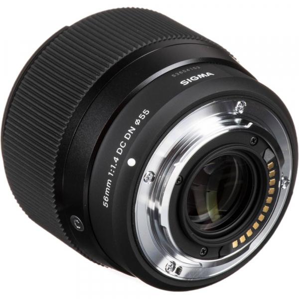Sigma 56mm f/1.4 DC DN Micro Contemporary -  obiectiv Mirrorless montura Canon EOS-M 5