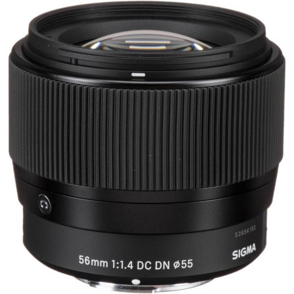 Sigma 56mm f/1.4 DC DN Micro Contemporary -  obiectiv Mirrorless montura Canon EOS-M 0
