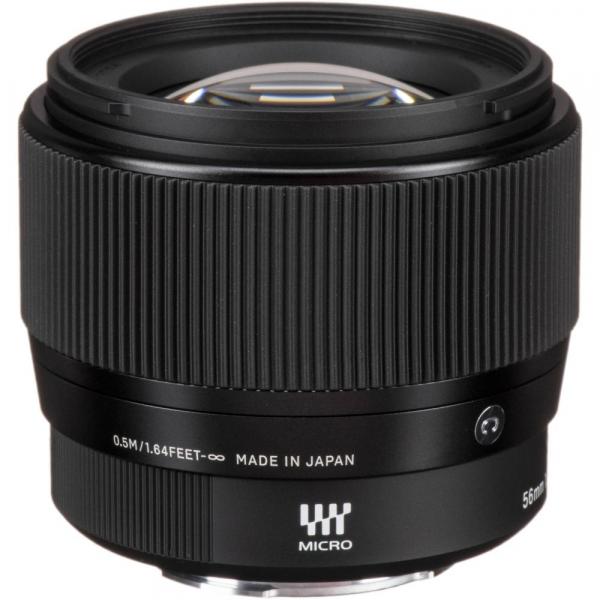 Sigma 56mm f/1.4 DC DN Micro Contemporary -  obiectiv Mirrorless montura Canon EOS-M 3