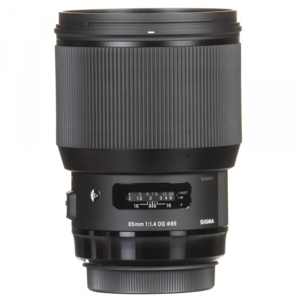 Sigma 85mm f/1.4 DG HSM ART - Canon EF 4