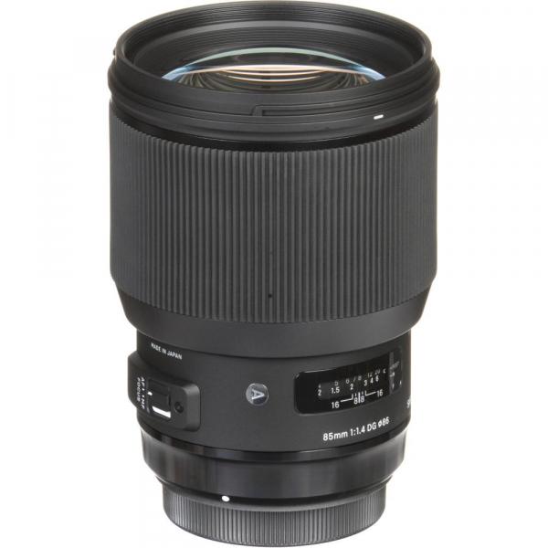 Sigma 85mm f/1.4 DG HSM ART -   obiectiv Mirrorless montura Sony E 6