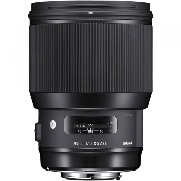 Sigma 85mm f/1.4 DG HSM ART -   obiectiv Mirrorless montura Sony E 1