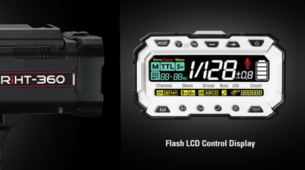 SMDV Briht-360 TTL / blitz de studio cu acumulator 4