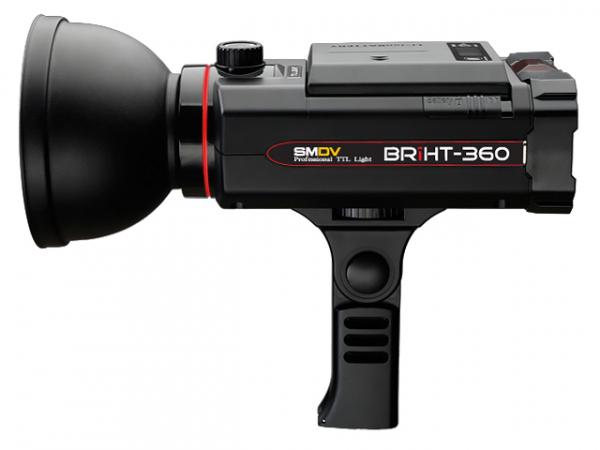 SMDV Briht-360 TTL / blitz de studio cu acumulator 0