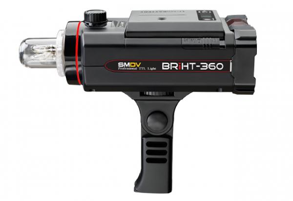 SMDV Briht-360 TTL / blitz de studio cu acumulator 1