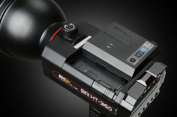 SMDV Briht-360 TTL / blitz de studio cu acumulator 2