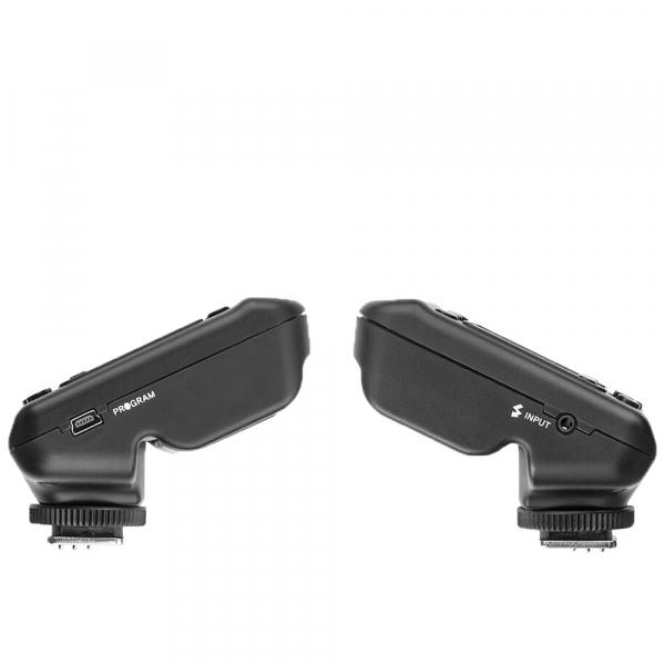 SMDV FlashWave-5 TX - transmiter TTL pentru blitz-ul Briht 360 - patina Canon 6