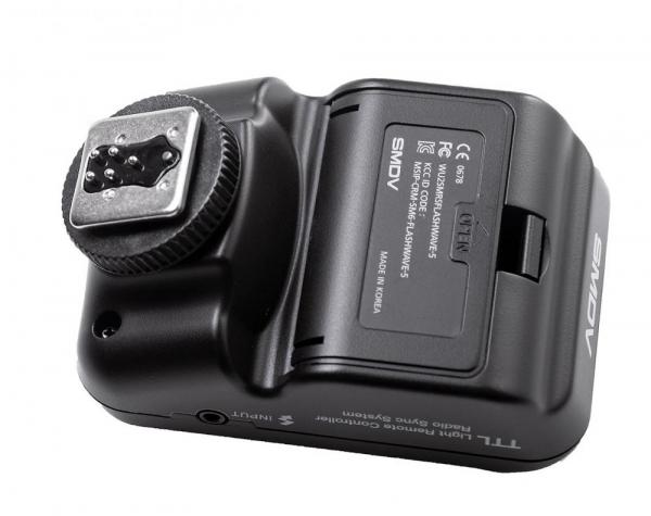 SMDV FlashWave-5 TX - transmiter TTL pentru blitz-ul Briht 360 - patina Canon 5