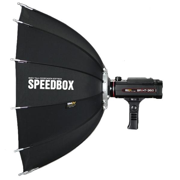 SMDV Speedbox-A110 , softbox dodecagon + GRID , cu montura BOWENS 1