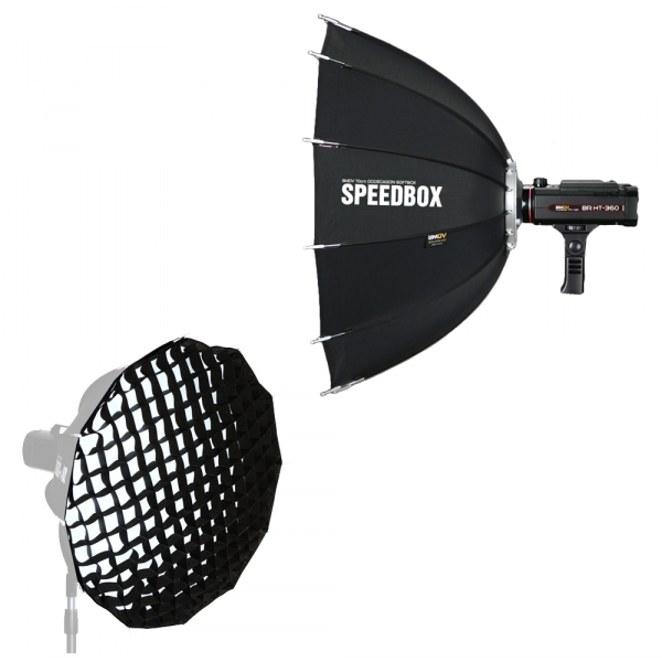 SMDV Speedbox-A110 , softbox dodecagon + GRID , cu montura BOWENS 0