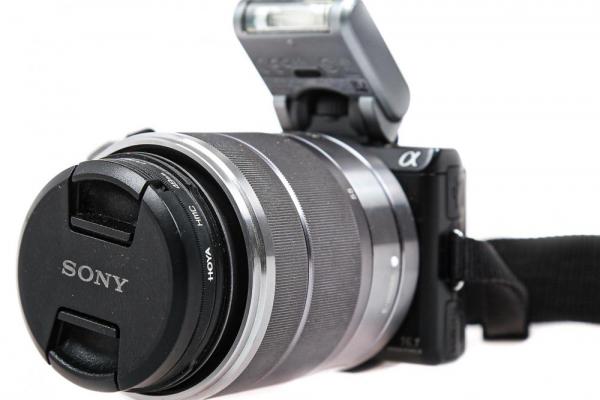 Sony NEX-5N kit cu ob.18-55mm ,  Aparat foto mirrorless - Second Hand 1