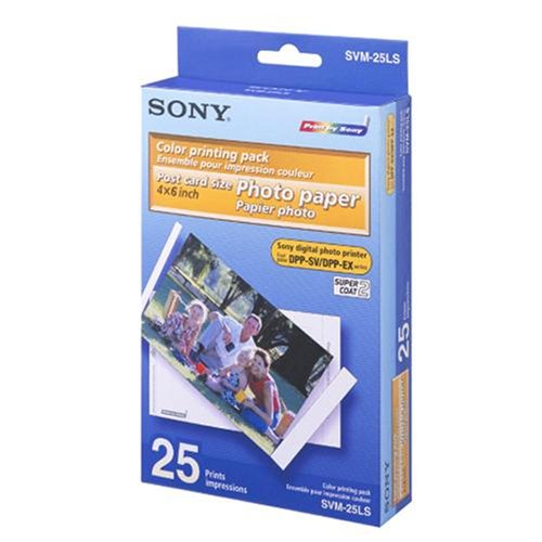 Sony SVM-25LS - 10x15cm 25buc 0